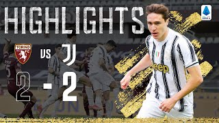 Torino 2 2 Juventus Chiesa and Ronaldo on Target in Derby della Mole Serie A Highlights