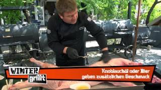 Grillrezept: Spanferkel
