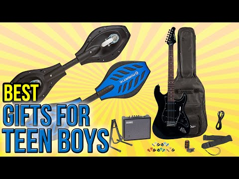 10 Best Gifts For Teen Boys 2016