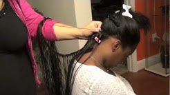 """Sew-In Atlanta 18"""" Indian Tracks with L10 Hair"""