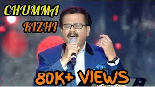 SPB live stage performance singing Darbar Chumma kizhi song HIGH
