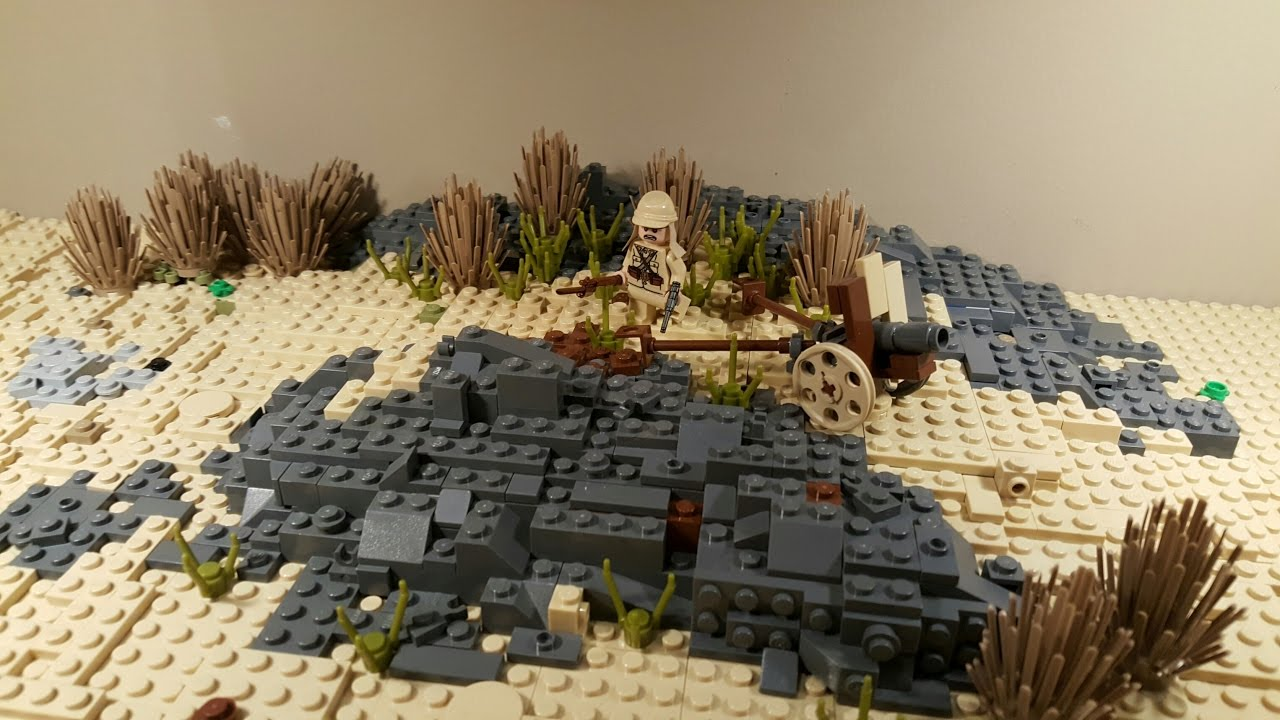 LEGO WW2: Building Iwo Jima Update 5 - YouTube