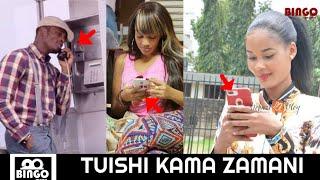 SIRI YAFICHUKA DIAMOND KUMPIGIA SIMU ZARI/HAMISA NAOMBA WATOTO WANGU KWENYE SHOW