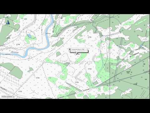 Топографическая карта Смоленской области для Garmin