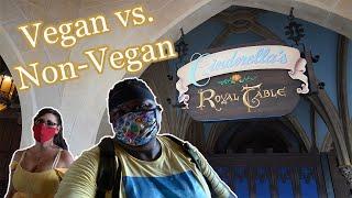 Cinderella's Royal Table Re-opened | Vegan & non-vegan food review | Walt Disney World Magic Kingdom