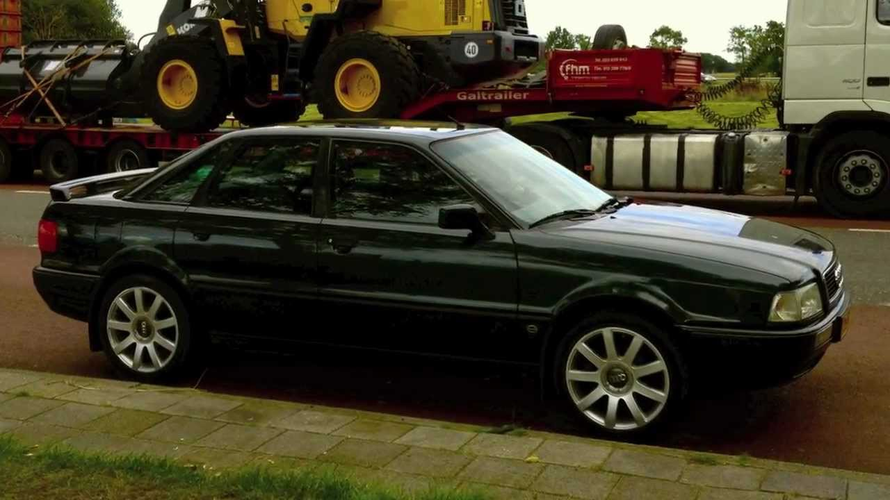 Audi Vs Mercedes >> Audi 80 2.3E NG custom exhaust - YouTube