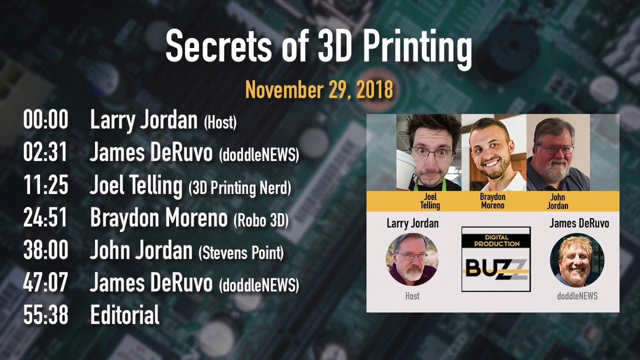 Digital Production Buzz - Secrets of 3D Printing