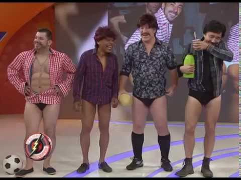 El Pichu Lavezzi cumple con su prenda - Peligro Sin Codificar 2015