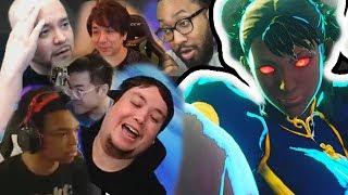 Streamers VS SHADOW LADY Feat: Sako,VesperArcade,ElChakotay.... Best Of Street Fighter #5