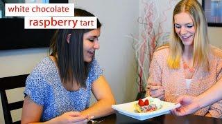 Date Night Cook Dessert: White Chocolate Raspberry Tart