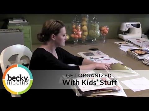 Get Organized with Kids' Stuff