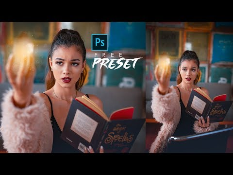 Cinematic Color Grading Photoshop Tutorial [Free Preset] thumbnail