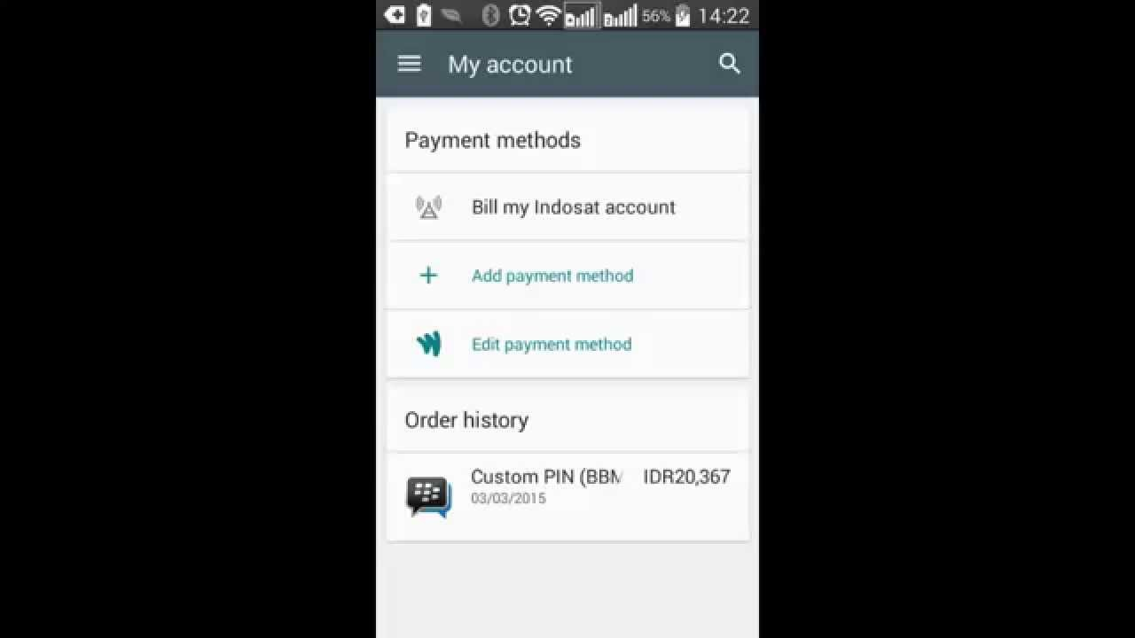 Cara Enable Indosat Billing Carrier Google Play Store Youtube