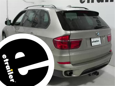 etrailer | Trailer Wiring Harness Installation - 2012 BMW X5 - YouTube