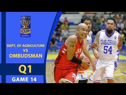 UNTV Cup 6: Ombudsman vs DA - Q1