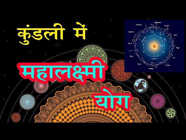 धनवान बनाने वाला राजयोग, महालक्ष्मी योग by Pandit Shubham Dwiwedi