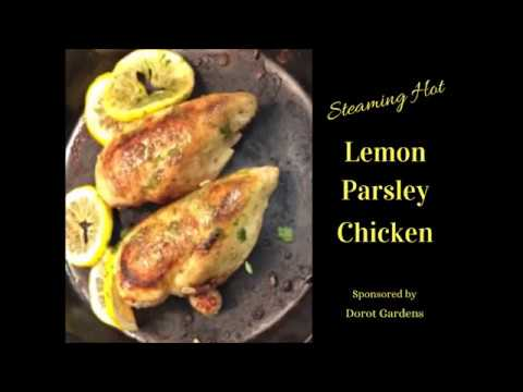 Lemon Parsley Chicken A Quick and Easy Dinner - Dorot Gardens