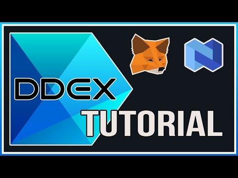 DDEX Decentralized Exchange | NEXO | METAMASK | Tutorial for beginners