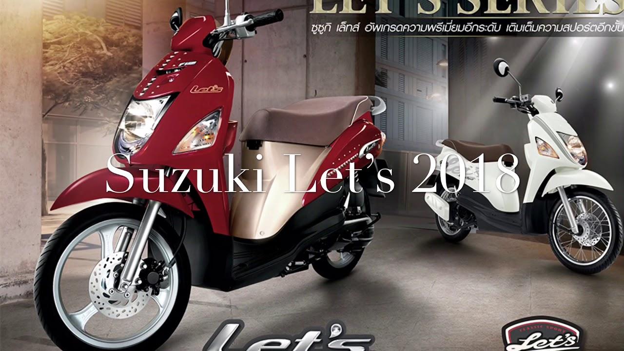 e88cf9f41 New Suzuki Let's 2018 - YouTube
