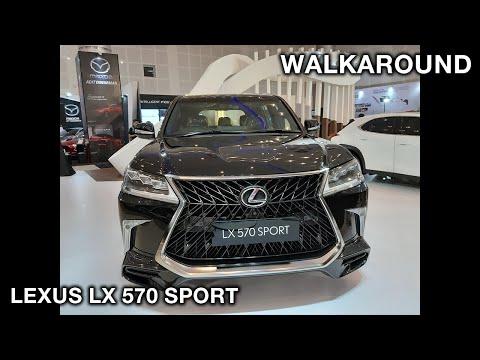 Lexus LX 570 Sport 2019 - Exterior and Interior Walkaround #GIIASSurabaya2019