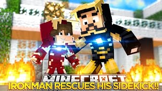Minecraft Adventure - IRONMAN RESCUES HIS SIDEKICK!! ▻ Please Like ...