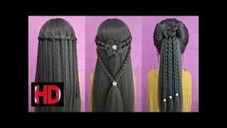 26 Braided Flower | Braided Hairstyles | Hairstyles for Girls | Best Hairstyles for Girls | Part 2