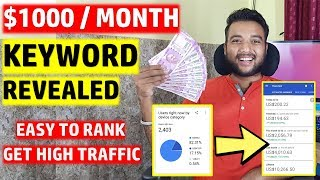 Best Keywords to Get Millions of 100% ORGANIC TRAFFIC From Google