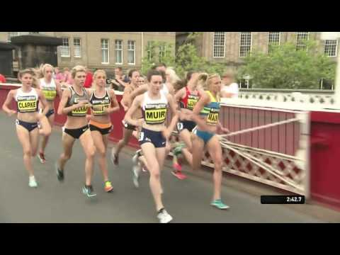 Women's Mile - Great North City Games Newcastle 2016 FULL HD