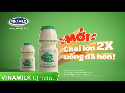 Quảng cáo Vinamilk – Sữa chua uống men sống Probi (35s)
