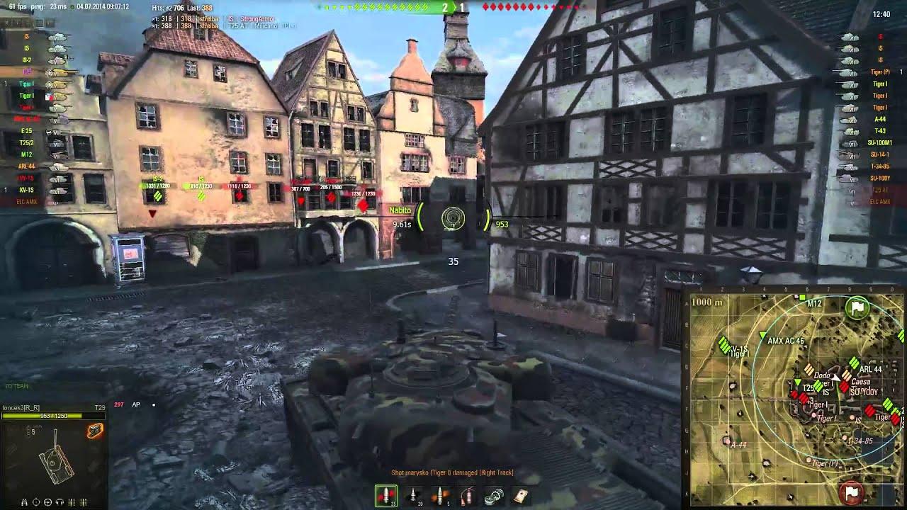 Download World of Tanks CZ - záznam streamu z 4.7.2014 ranní