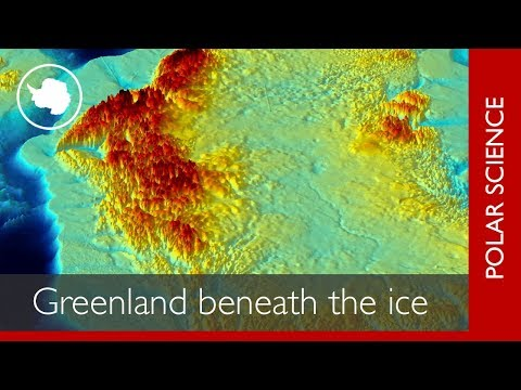 Uncovering the landscape beneath the Greenland Ice Sheet