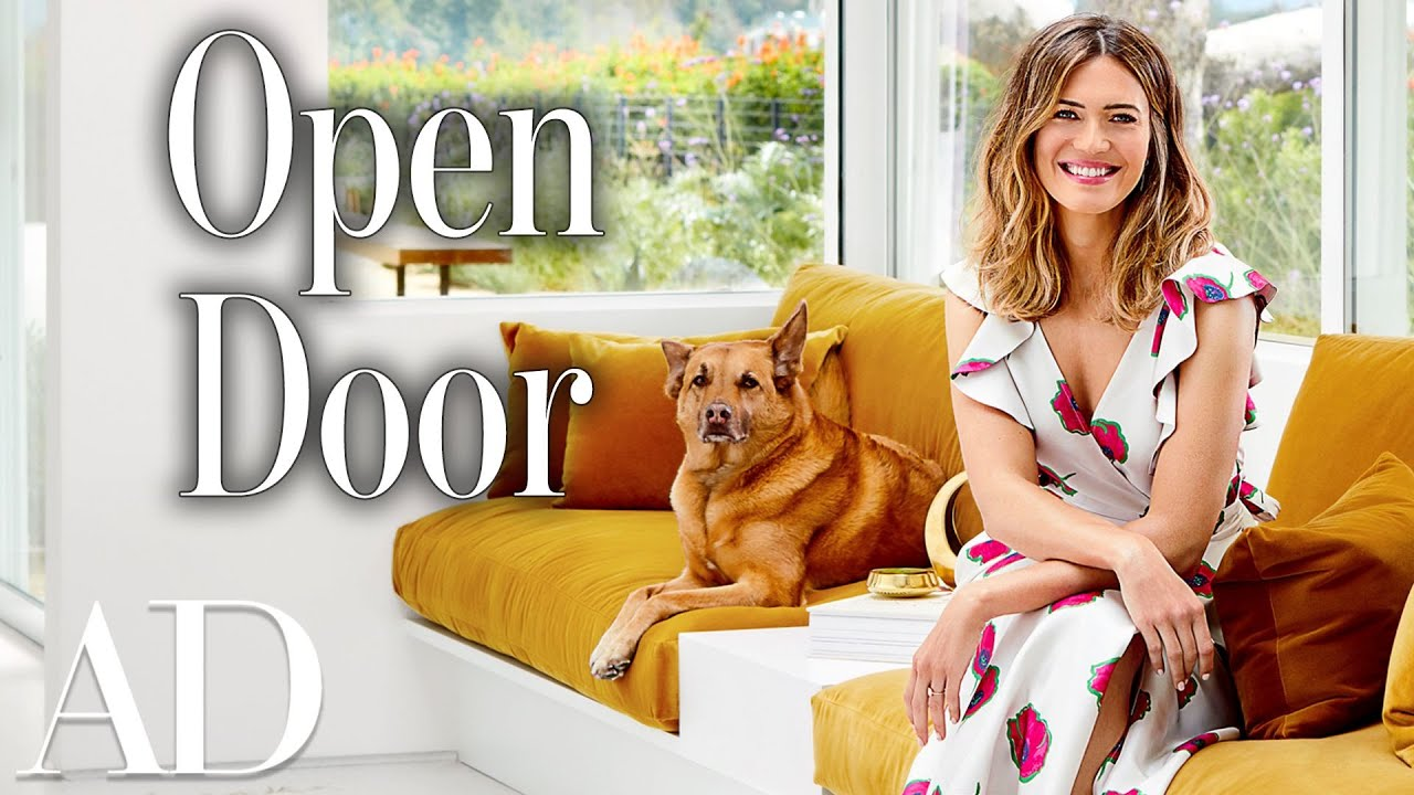 Inside Mandy Moore's $2.6 Million Mid-century Home in Pasadena | Open Door