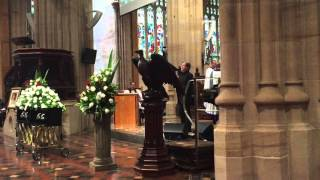 "Stevie Wright Funeral - John Paul Young & Warren Morgan ""Evie Part 2"""