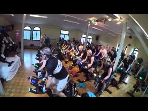 MedFit Indoorcycling-Marathon am 16.01.2016 Stunde 4