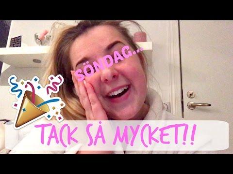 TACK SÅ MYCKET!! / Vloggvecka day 7 |Johanna Lind