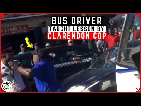 Police VS Bus Driver in Spalding Clarendon | Teach Dem
