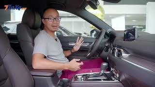 Đánh giá nhanh Mazda CX-8: tân binh phân khúc SUV 7 chỗ liệu có sức nặng? |TINXE.VN|
