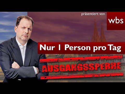 Bundesweite Ausgangssperren ab 21 Uhr - Treffen nur noch mit 1 Person pro Tag - Merkel macht Druck!