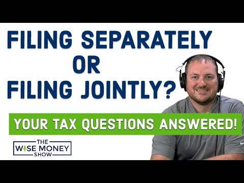 Should Married Couples File Taxes Separately or Jointly?