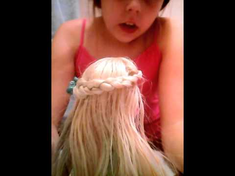 8 hairstyles for barbie / any doll - YouTube