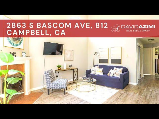 For Sale! 2863 S Bascom Ave, 812 Campbell, CA 95008 | David Azimi
