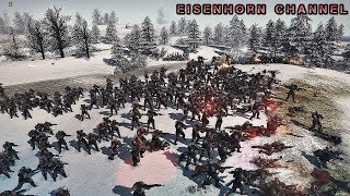 Men of war 2 Ultimate Mod Warhammer 40k EPIC MASSIVE BATTLE !!! - SM vs Blood Pact - Безумный напор