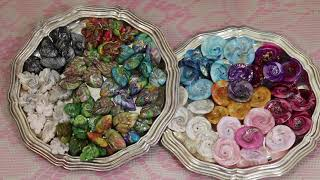 How to Make Lentil Leaf  and Flower Beads with Polymer Clay
