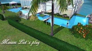 Déco et construction maison Sims 3