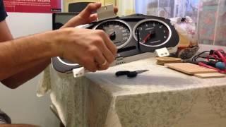 Разборка щитка приборов Subaru impreza