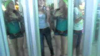 stuck in a place with all mirrors o