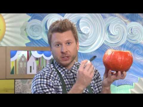 Как сделать из тыквы домик своими руками