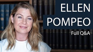 Ellen Pompeo | Full Q&A | Oxford Union