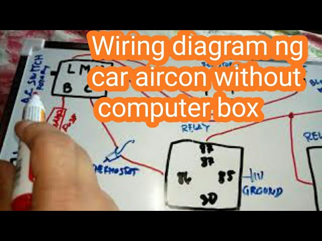 Wiring Diagram Of Car Aircon Without, Car Air Conditioning System Wiring Diagram Pdf