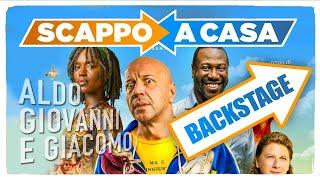 Scappo a casa - Backstage con Angela Finocchiaro - Il nuovo film di Aldo Baglio